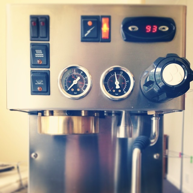 #coffeemachinist dual boiler silvia @rancilio_ve